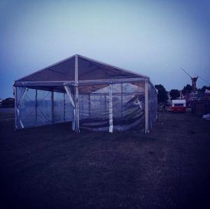 Aerodromo Top Tent Evento alquiler carpa