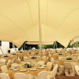 boda interior carpa beduina Top tent Barcelona