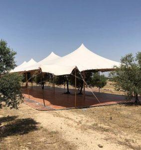 Integración de los elementos Top Tent