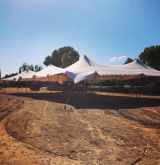 carpas beduinas grande boda Top Tent