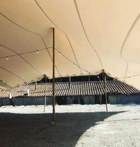 carpa beduina interior Boda Top Tent