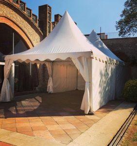 catálogo carpa pagoda Top Tent evento