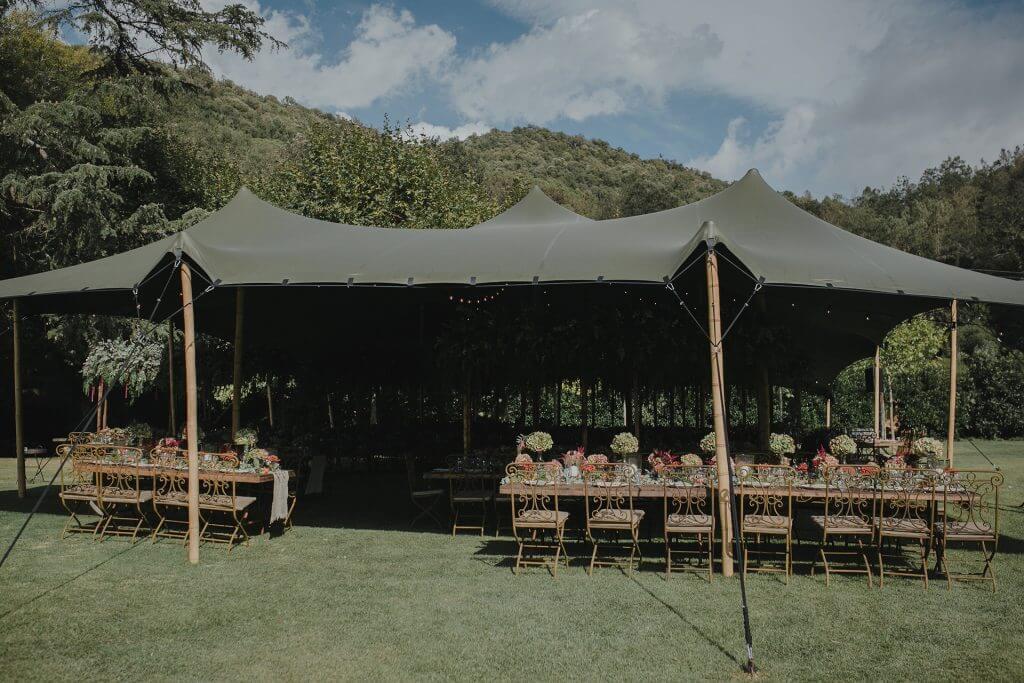 nuestras Carpas beduinas top tent