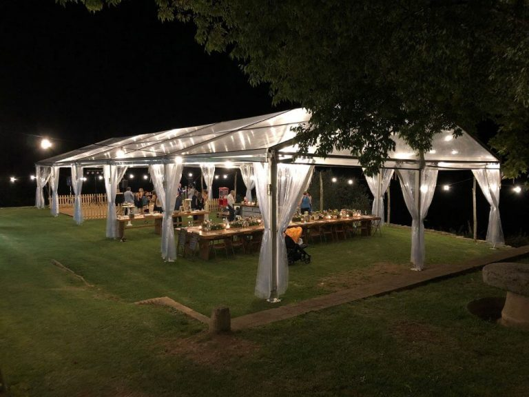 Pabellón alquiler iluminacion Top Tent
