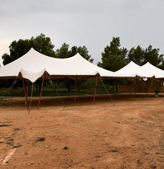 Girona Top tent beduina alquiler