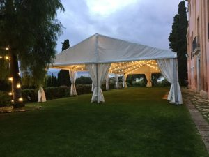 alquiler carpa pabellón Top tent