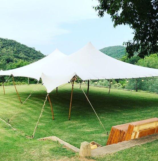 carpas beduinas boda Top Tent alquiler