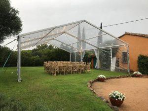 carpa pabellon transparente alquiler top tent