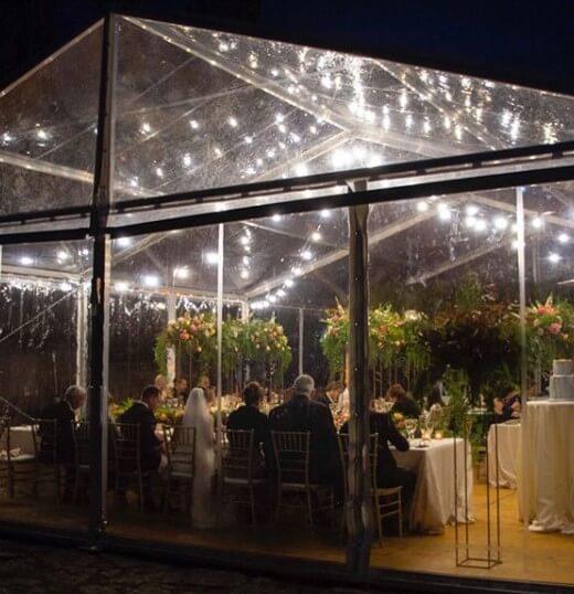 Pabellón-transparente top tent catálogo