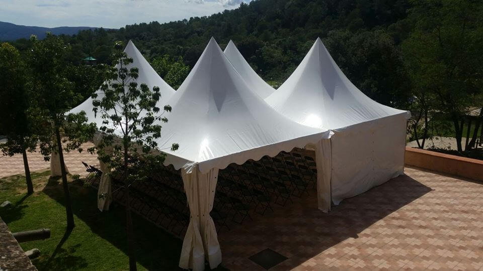 iluminación decorativa carpa pagoda top tent