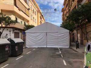 Pabellón carpa evento empresa Top Tent