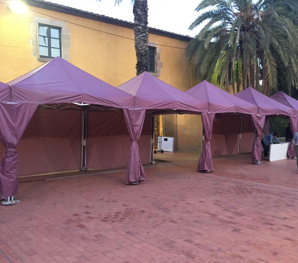 plegable carpa top tent
