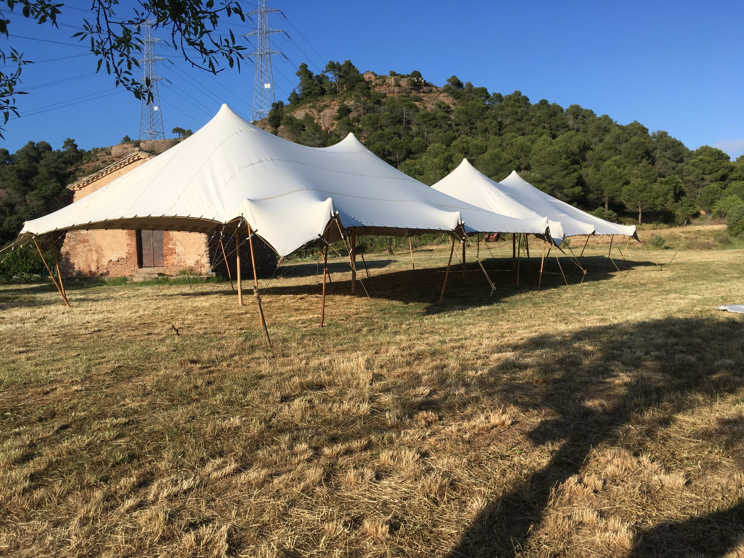 servicio de alquiler top tent
