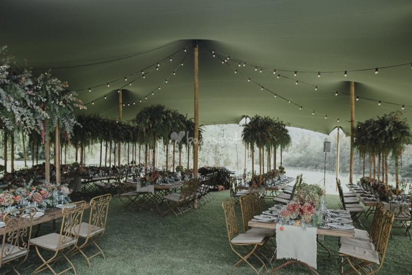 bodas en cataluña beduina verde