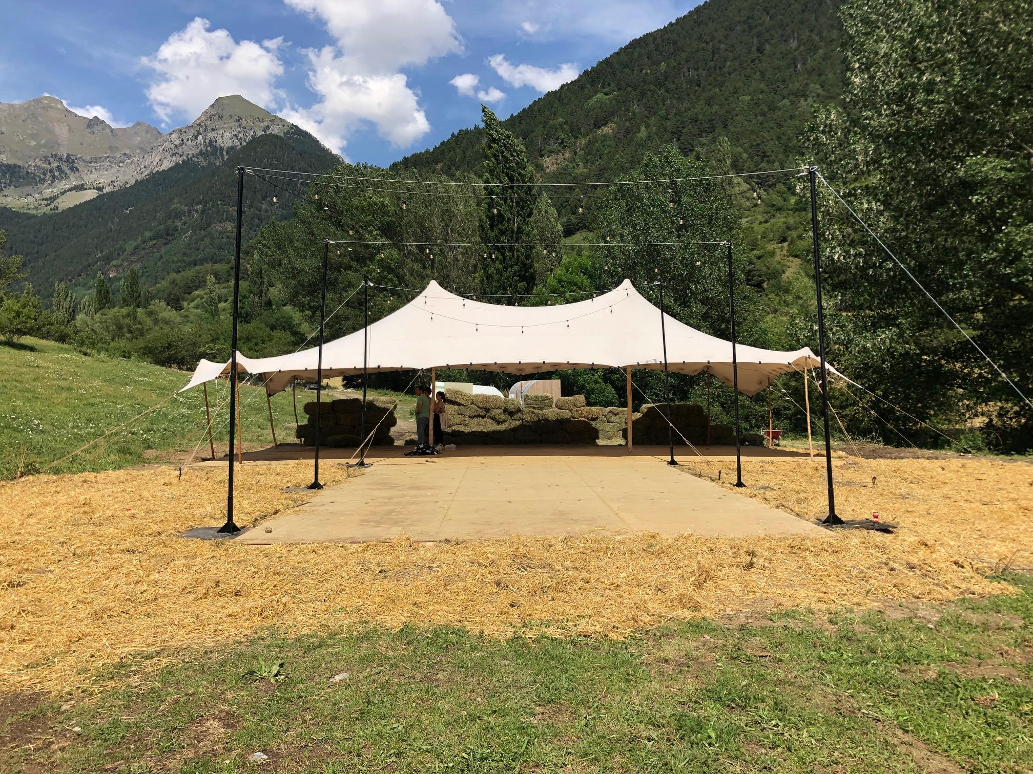 tipo de carpa top tent