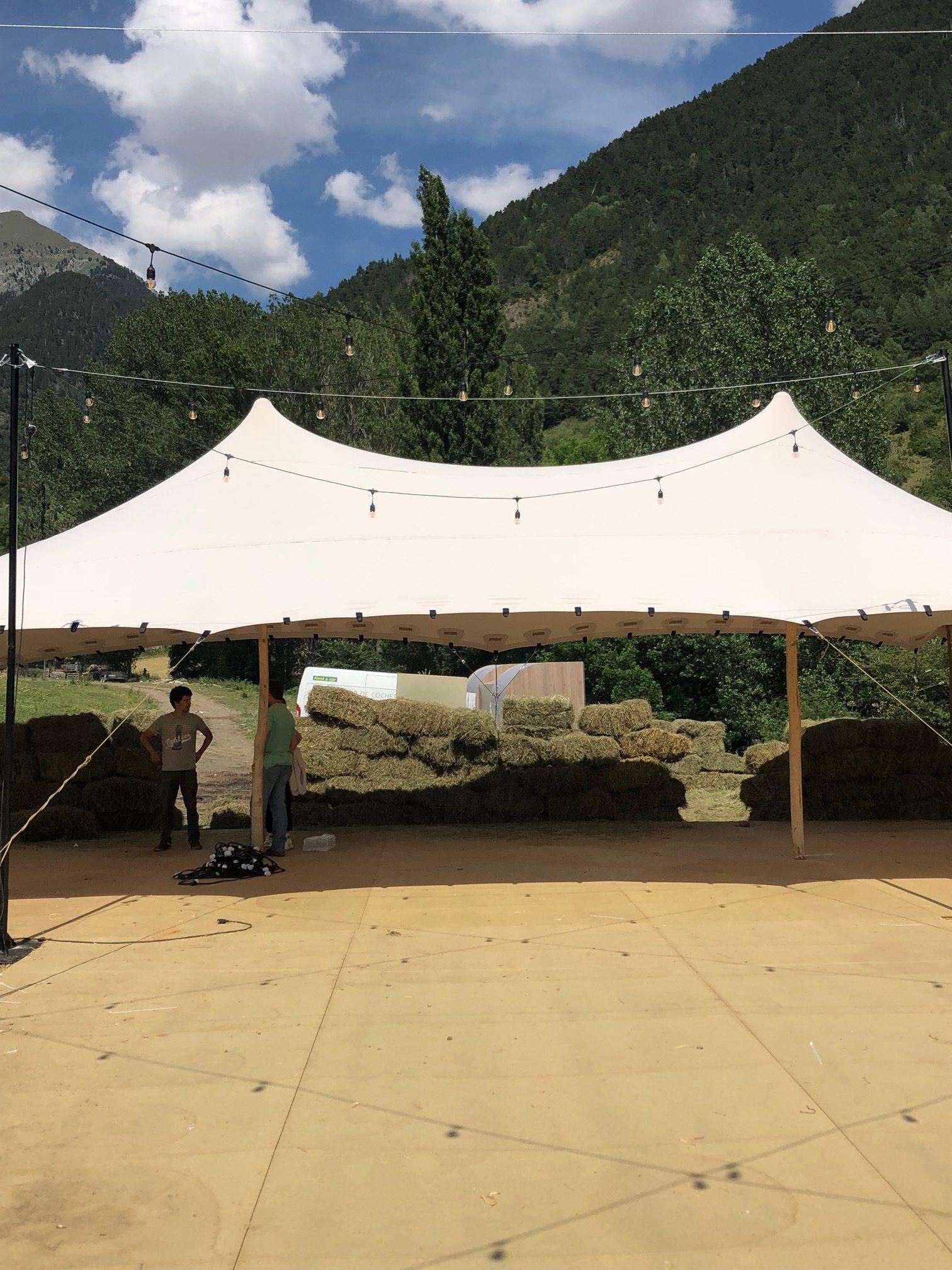 carpas en alquiler top tent