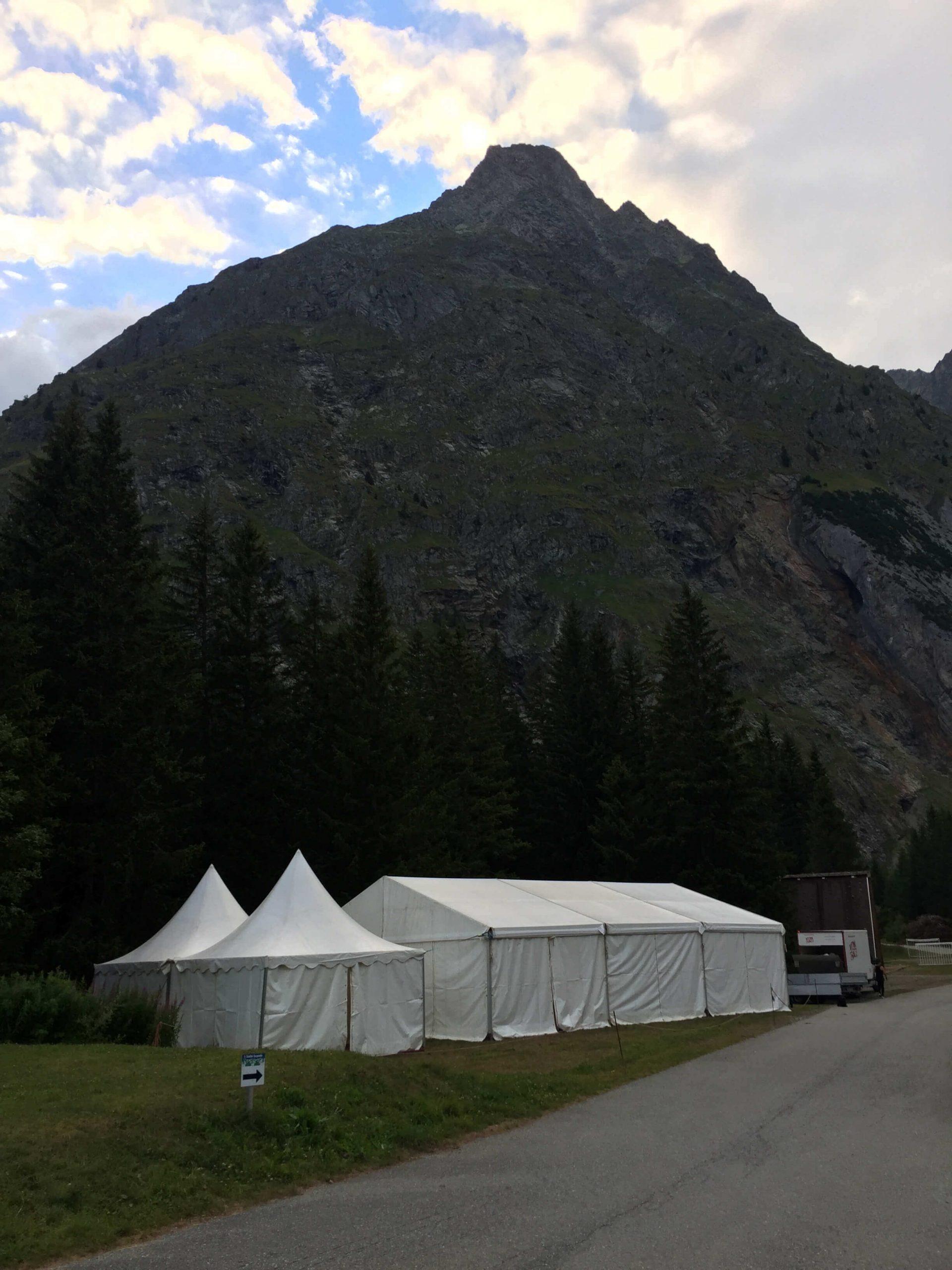 Carpas de almacenamiento top tent