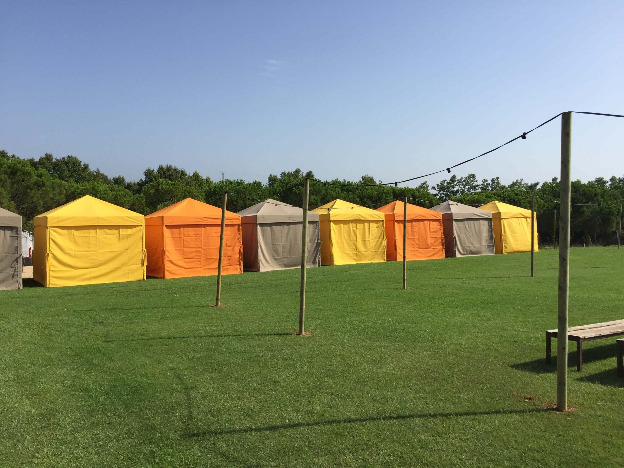 leds plegables festivales