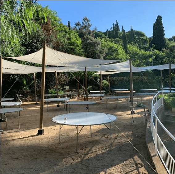 montaje toldos vela top tent