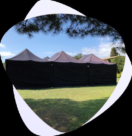 alquiler de carpas plegables top tent